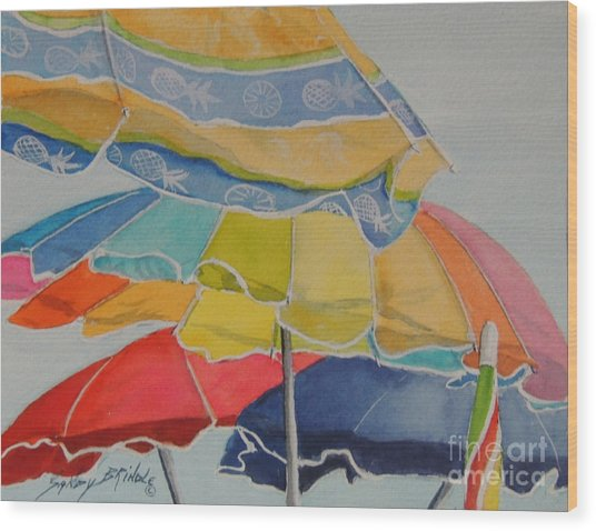 The Colors Of Fun.  Sold Wood Print