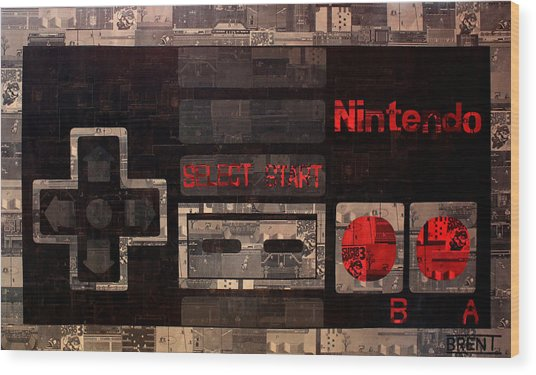 The Controller Wood Print