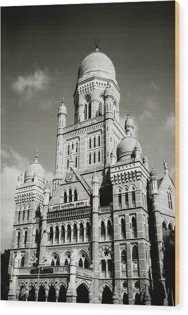 The Corporation Building Bombay Wood Print