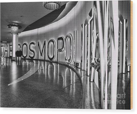 The Cosmopolitan Hotel Las Vegas By Diana Sainz Wood Print