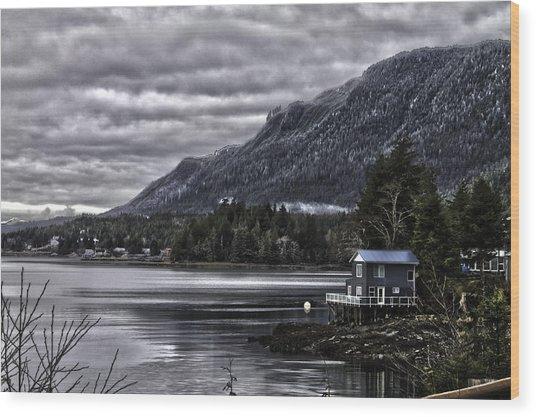 The Cove. Wood Print