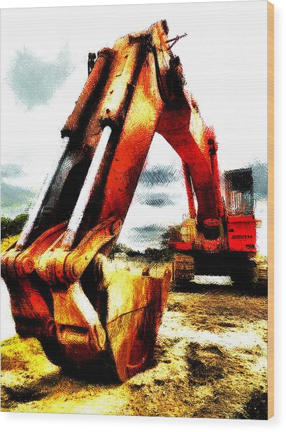The Crab Claw Wood Print