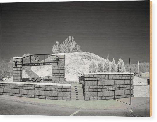 The Criel Mound  Wood Print