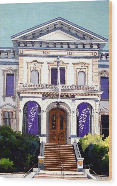 The Crocker Art Museum Wood Print