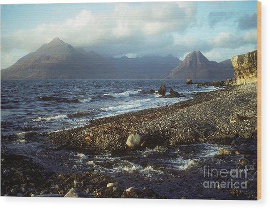The Cuillins From Elgol - Isle Of Skye Wood Print