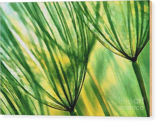 The Dandelion Wood Print