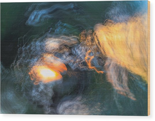 The Dawn Of Time Wood Print by Steve Belovarich