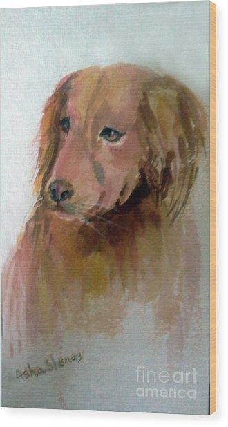 The Doggie Wood Print