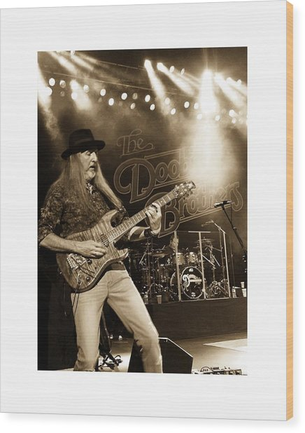 The Doobie Brothers Wood Print