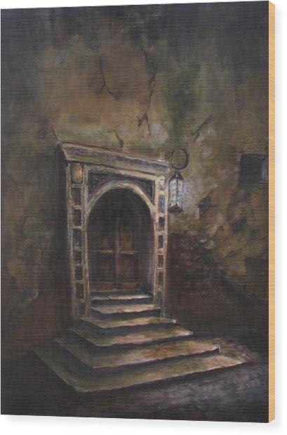 The Doorway Wood Print