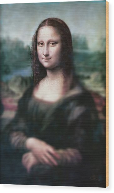 The Dream Of The Mona Lisa Wood Print