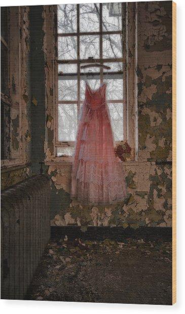 The Dress Wood Print