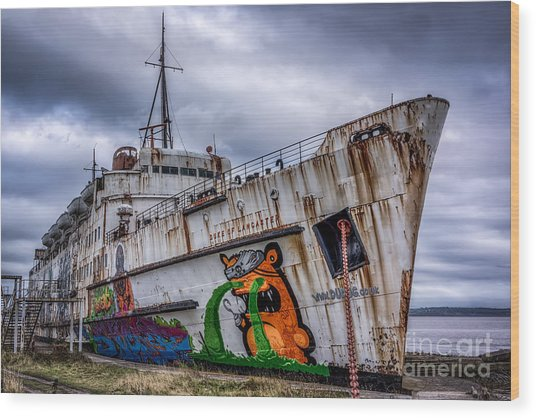The Duke Of Lancaster Wood Print
