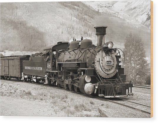 The Durango And Silverton Wood Print