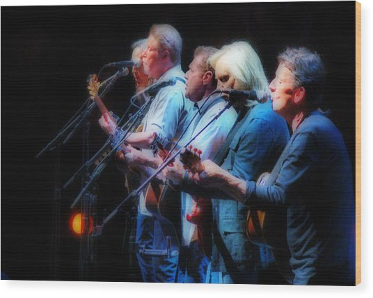 The Eagles Inline Wood Print