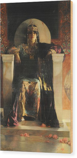 The Empress Theodora Wood Print