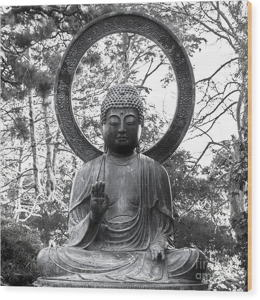 The Enlightened One Wood Print