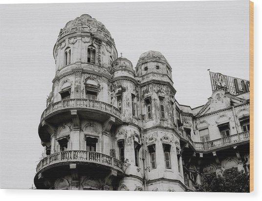 The Esplanade Mansions Wood Print