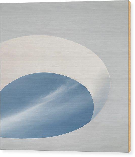 The Eye Of The Sky... Wood Print