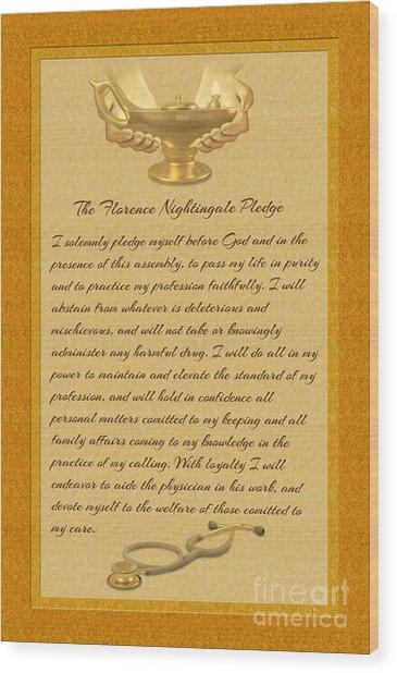 Florence Nightingale Pledge In English
