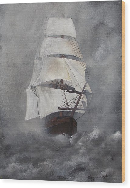 The Flying Dutchman Wood Print