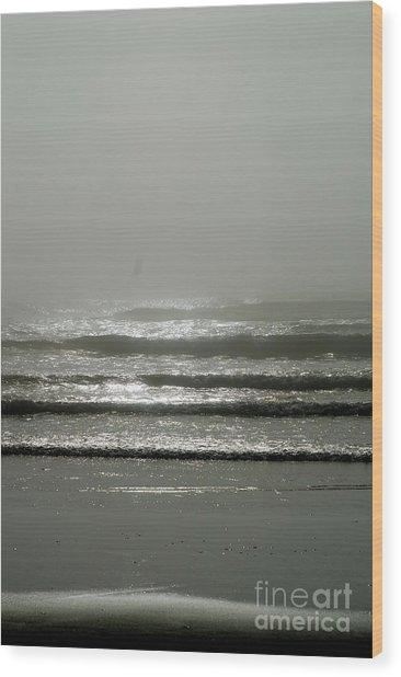 The Fog Wood Print by Sheldon Blackwell