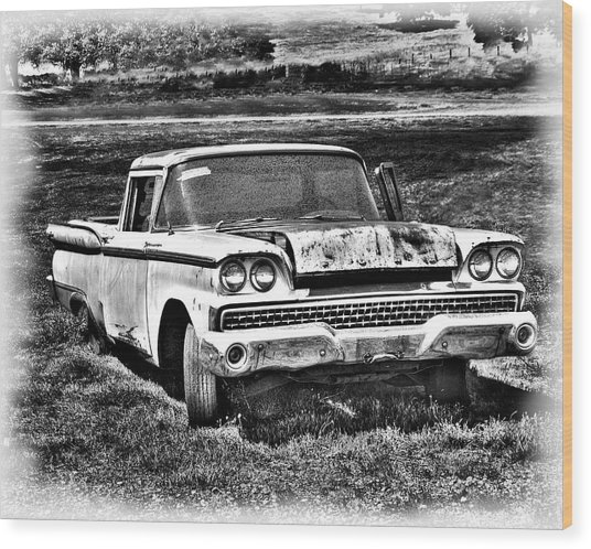 The Ford Ranchero Wood Print