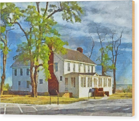 The Former Sleeping Bear Inn / Glen Haven Michigan Wood Print
