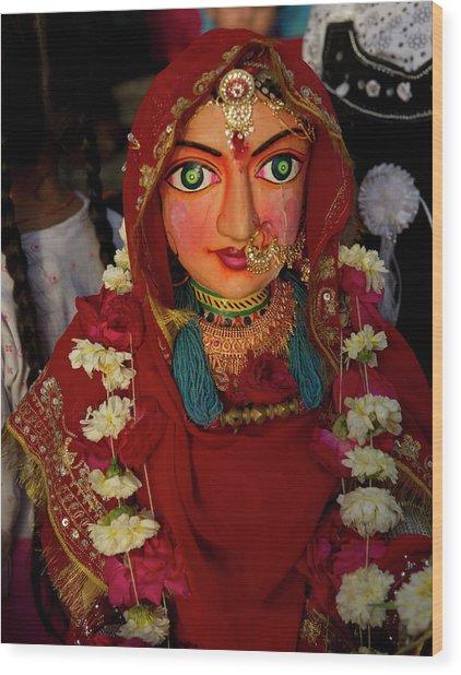 The Gangaur Festival Is Celebrated Wood Print