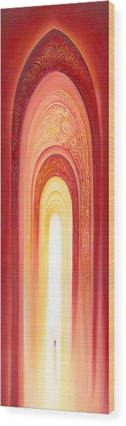 The Gate Of Light Wood Print