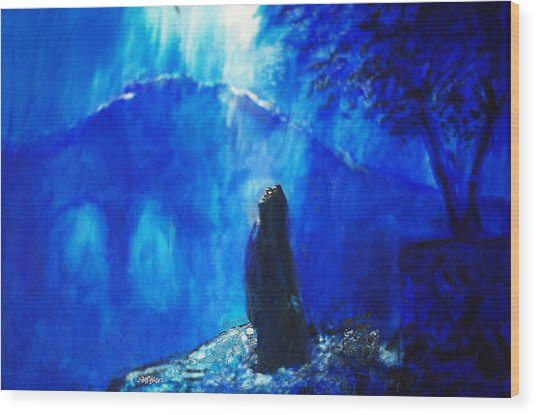 The Gethsemane Prayer Wood Print