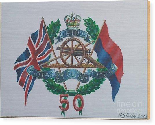 The Glorious 50 Wood Print by Richard John Holden RA