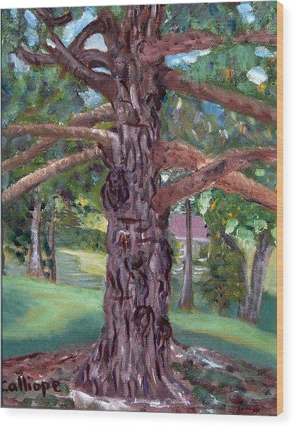 The Gnarley One Wood Print