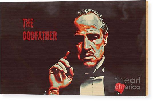 The Godfather Wood Print