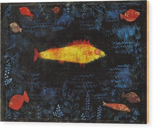 The Goldfish Wood Print