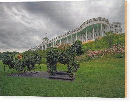 The Grand Hotel Mackinac Island Wood Print