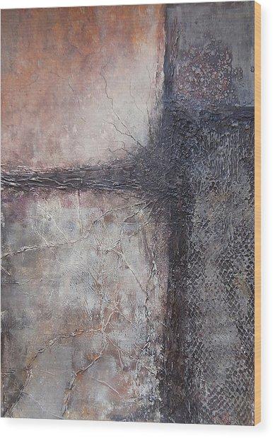 The Gray Life Wood Print