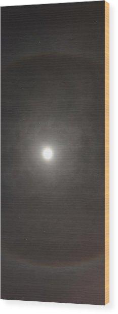 The Great Eye Wood Print