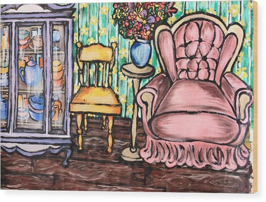 The Great Indoors Wood Print