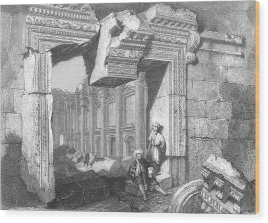 The Great Temple          Date Circa Wood Print