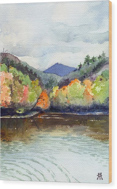 The Greenbriar River Wood Print