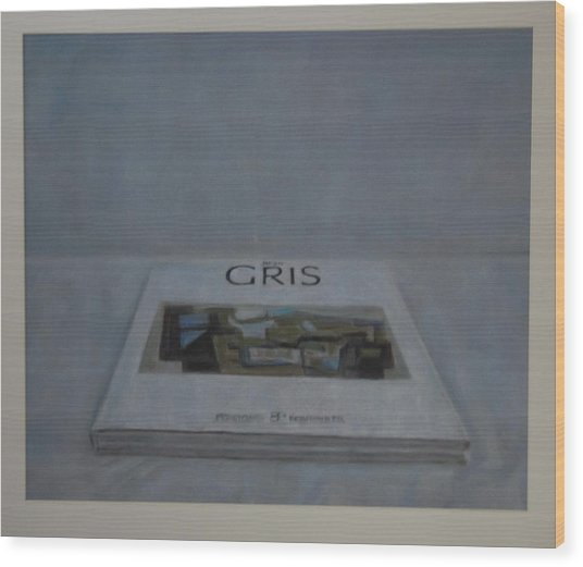The Gris Book Wood Print