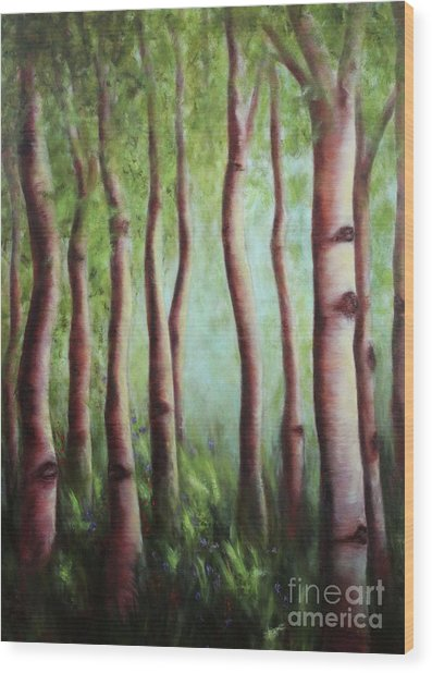 The Grove Wood Print