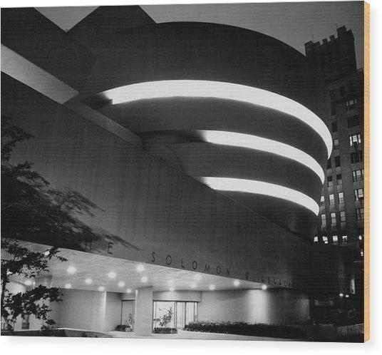 The Guggenheim Museum In New York City Wood Print