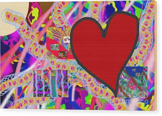 The Heart Of The Matter - Art Wood Print