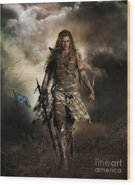The Highlander Wood Print