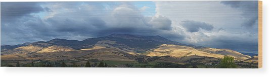 The Hills Of Ashland Wood Print