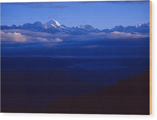 The Himalayas Wood Print