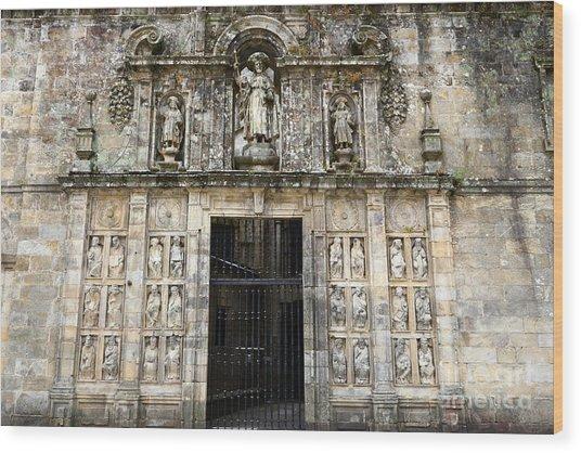 The Holy Door Wood Print