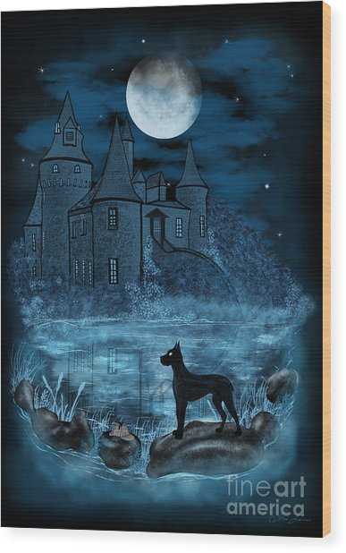 The Hound Of The Baskervilles Wood Print